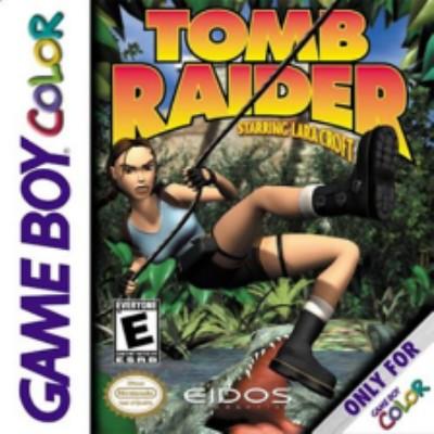 Tomb Raider starring Laura Croft Cover Art