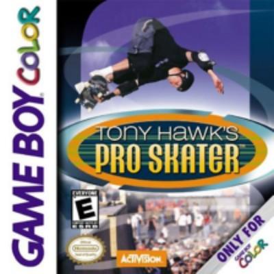 Tony Hawk's Pro Skater Cover Art