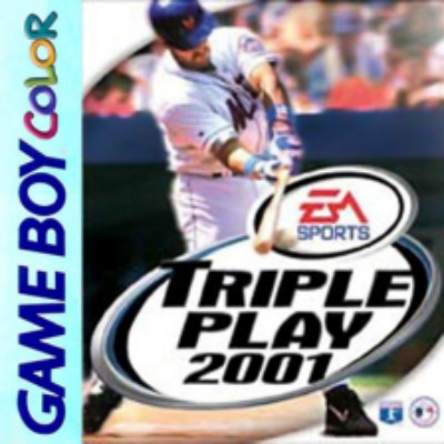 Triple Play 2001 Cover Art