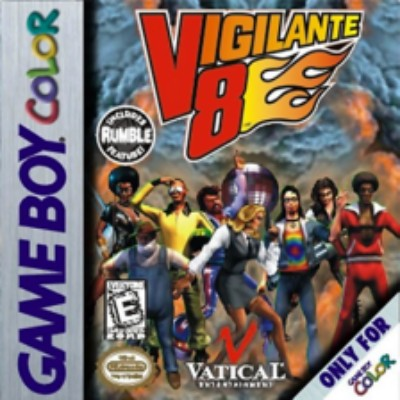 Vigilante 8 Cover Art