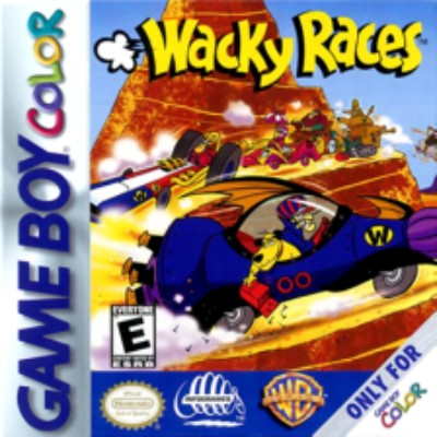 Wacky Races Cover Art
