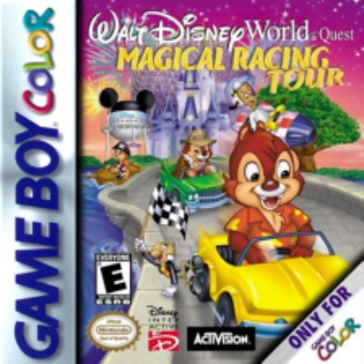 Walt Disney's World Quest: Magical Racing Tour Cover Art