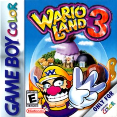 Wario Land 3 Cover Art