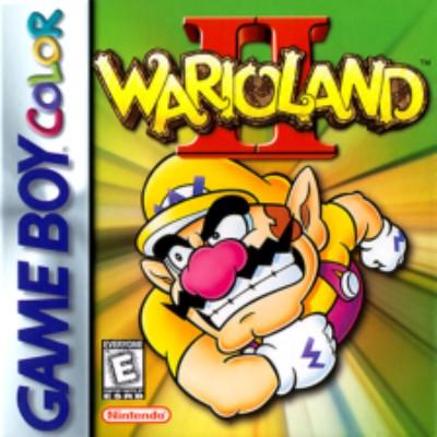 Wario Land II Cover Art