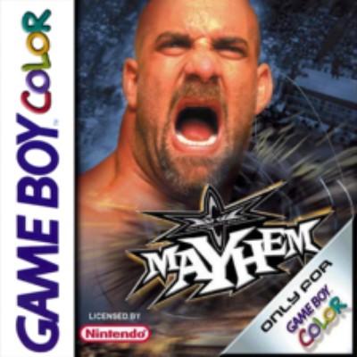 WCW Mayhem Cover Art