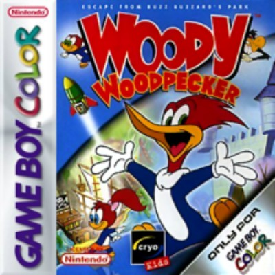 Woody Woodpecker Cover Art