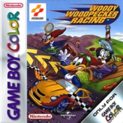 Woody Woodpecker Racing Cover Art