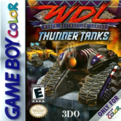World Destruction League: Thunder Tanks Cover Art