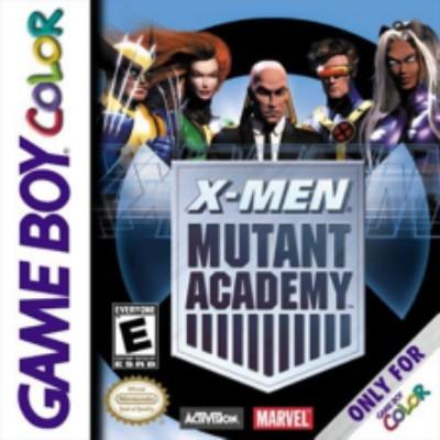 X-Men: Mutant Academy Cover Art