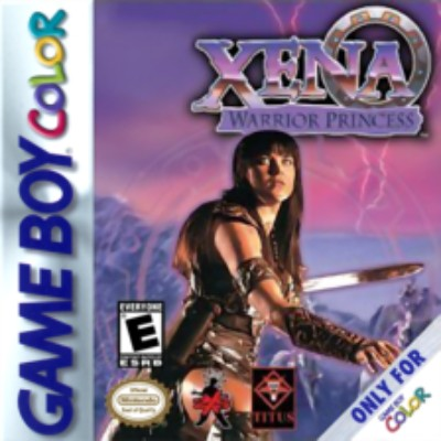 Xena: Warrior Princess Cover Art