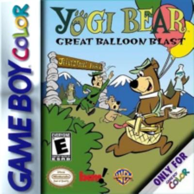 Yogi Bear: Great Balloon Blast Cover Art