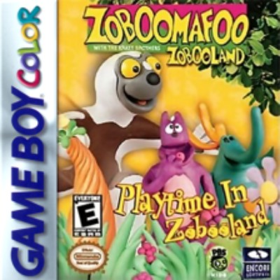 Zoboomafoo: Playtime in Zobooland Cover Art