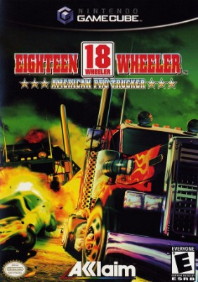 18 Wheeler: American Pro Trucker Cover Art