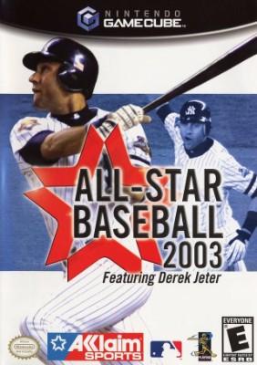 All-Star Baseball 2003 Cover Art