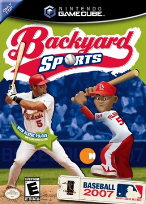 Backyard Baseball 2007 Cover Art