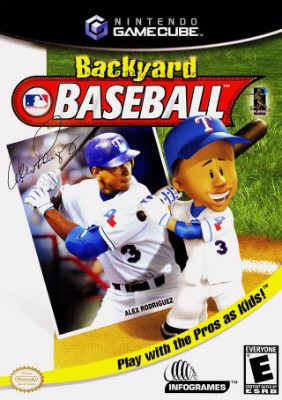 Backyard Baseball Cover Art