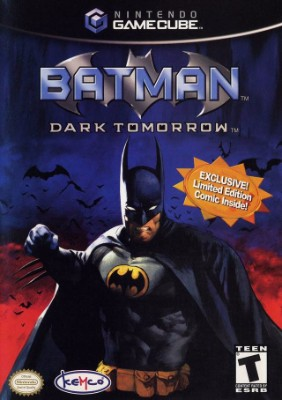 Batman: Dark Tomorrow Cover Art