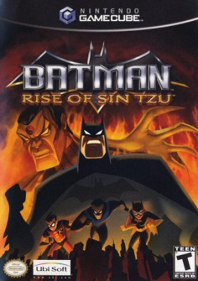 Batman: Rise of Sin Tzu Cover Art