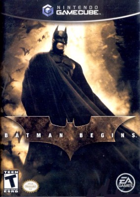 Batman Begins Cover Art