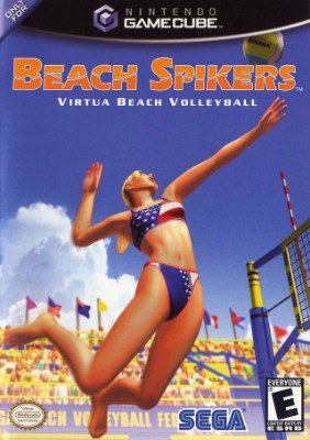 Beach Spikers: Virtua Beach Volleyball Cover Art