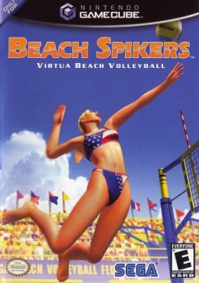 Beach Spikers: Virtua Beach Volleyball Cover Art