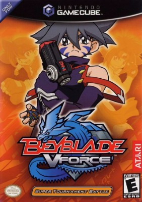 BeyBlade VForce: Super Tournament Battle Cover Art