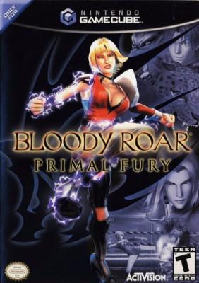 Bloody Roar: Primal Fury Cover Art