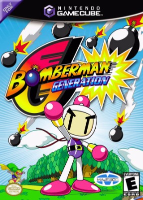 Bomberman Generation Cover Art