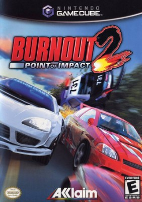 Burnout 2: Point of Impact Cover Art