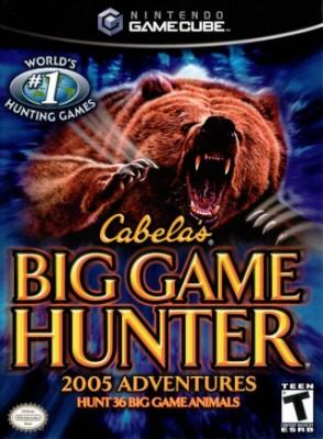 Cabela's Big Game Hunter 2005 Adventures Cover Art