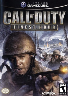 Call of Duty: Finest Hour Cover Art