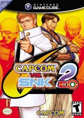 Capcom vs. SNK 2 EO Cover Art