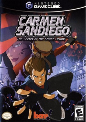 Carmen Sandiego: The Secret of the Stolen Drums Cover Art