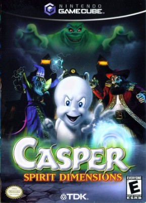 Casper: Spirit Dimensions Cover Art