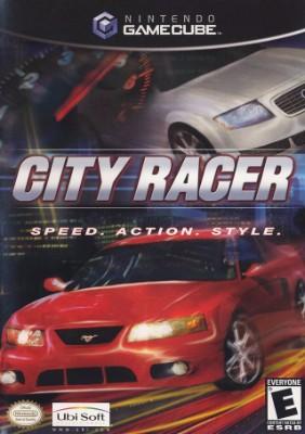 City Racer Cover Art