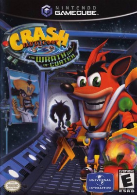 Crash Bandicoot: The Wrath of Cortex Cover Art