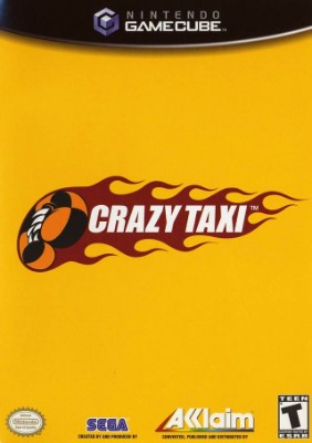 Crazy Taxi Cover Art