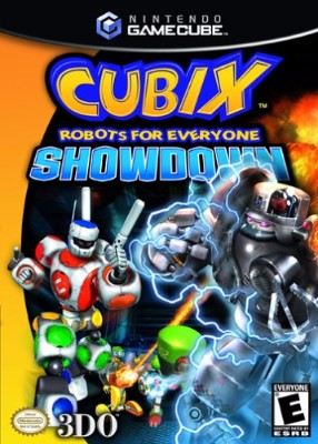 Cubix Robots for Everyone: Showdown Cover Art