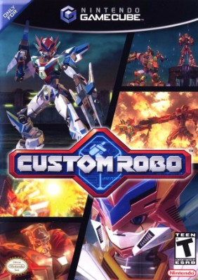 Custom Robo Cover Art