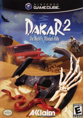 Dakar 2: The world's Ultimate Rally Cover Art