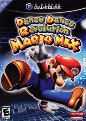 Dance Dance Revolution: Mario Mix Cover Art