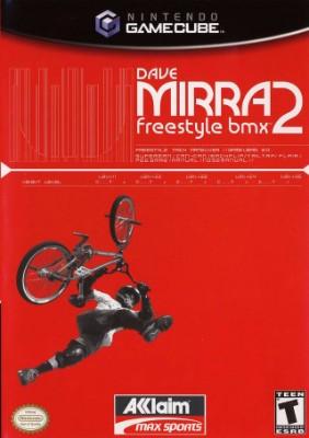 Dave Mirra Freestyle BMX 2 Cover Art