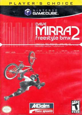 Dave Mirra Freestyle BMX 2 [Player's Choice] Cover Art