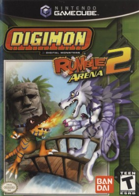 Digimon Rumble Arena 2 Cover Art