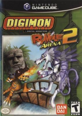 Digimon Rumble Arena 2 Cover Art