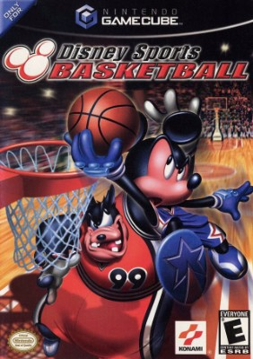 Disney Sports: Basketball Cover Art