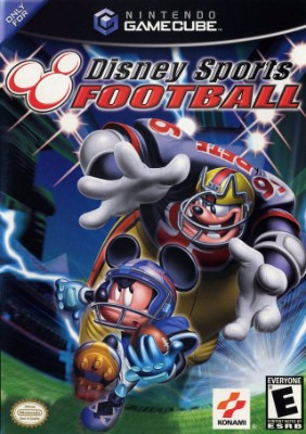 Disney Sports: Football Cover Art