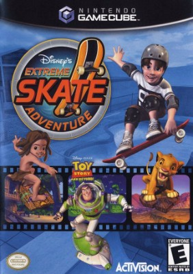 Disneys Extreme Skate Adventure Cover Art
