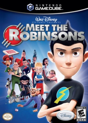 Meet the Robinsons Cover Art