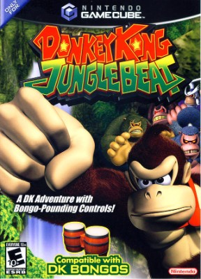 Donkey Kong Jungle Beat Cover Art